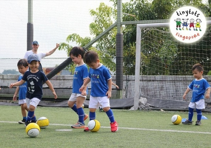 Tinytots Soccer class 18months-7years