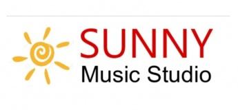 Sunny music studio