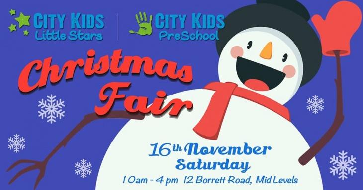 City Kids Christmas Fair