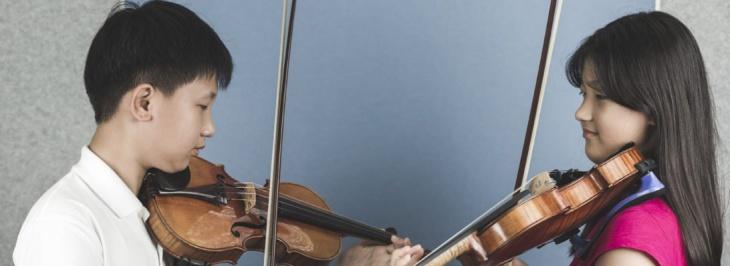 Family Music Program.Step 3: Instrumental Program Cello/Violin/Viola/Piano (4+yrs)