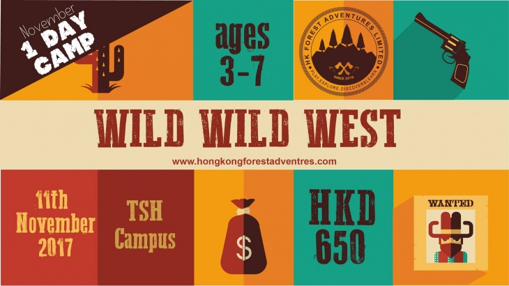 Wild Wild West - 1 Day Camp