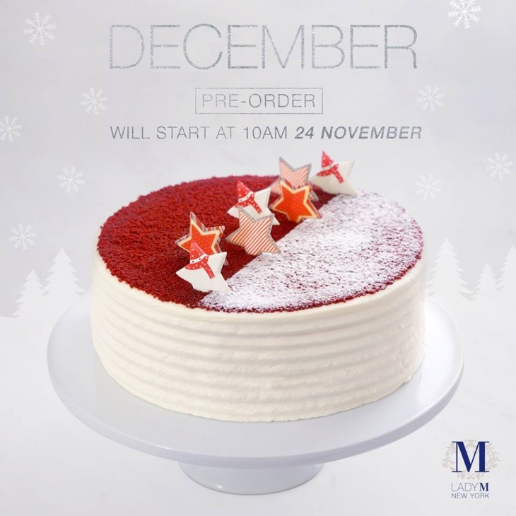 Christmas New Year Exclusive Cake Pre Order