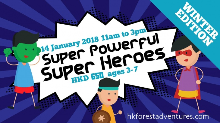 Super Powerful Super Heroes - 1 day camp