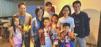 Parents & Kids Workshop - Creative Robot Making