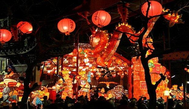 Lunar New Year Thematic Lantern Display 2018