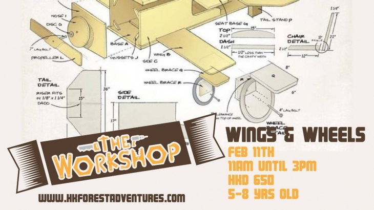 The Workshop: Wings and Wheels