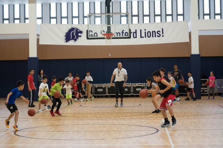 Basketball Clinics at Stamford-FREE for all skill levels