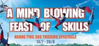 Ngong Ping 360 Tricking Spectacle