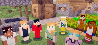 Immerse into the world of 3D with Minecraft