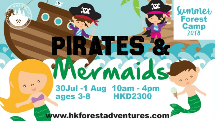 FULLY BOOKED | Summer Forest Camp Pirates & Mermaids