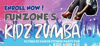 Kidz Zumba @ FunZone - Kennedy Town