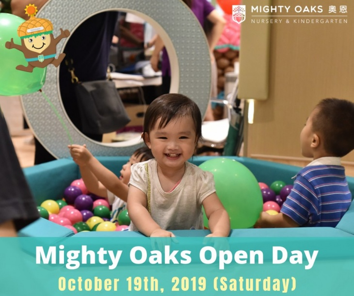 Mighty Oaks Open Day