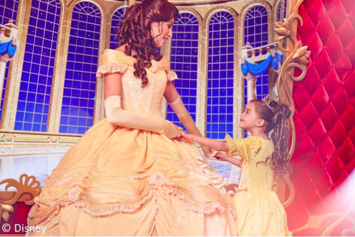Bibbidi Bobbidi Boutique Disney Princess Transformation