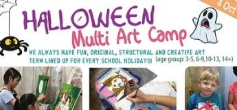 Halloween Art Camp