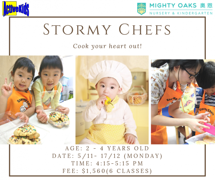 Mighty Oaks x ActiveKids: Stormy Chef