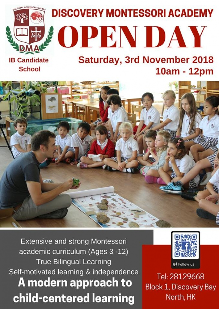 Discovery Montessori Schools Open Day
