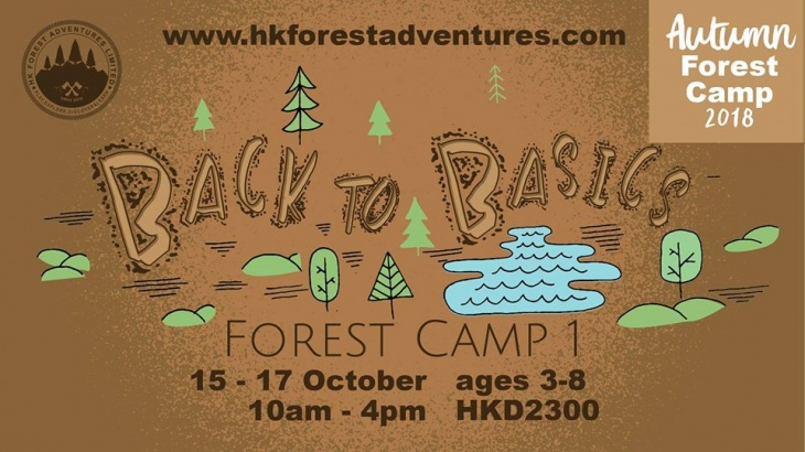Autumn Forest Camps - Back to Basics Forest Camp
