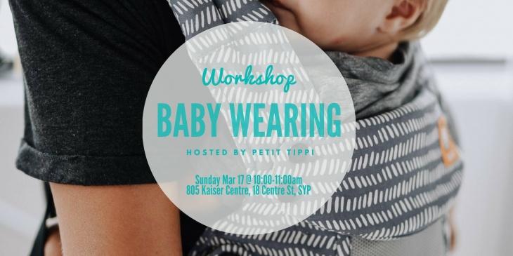 Petit Tippi Baby Wearing Workshop