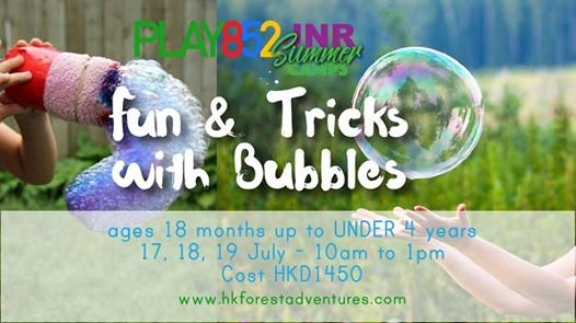 Fun & Tricks with Bubbles
