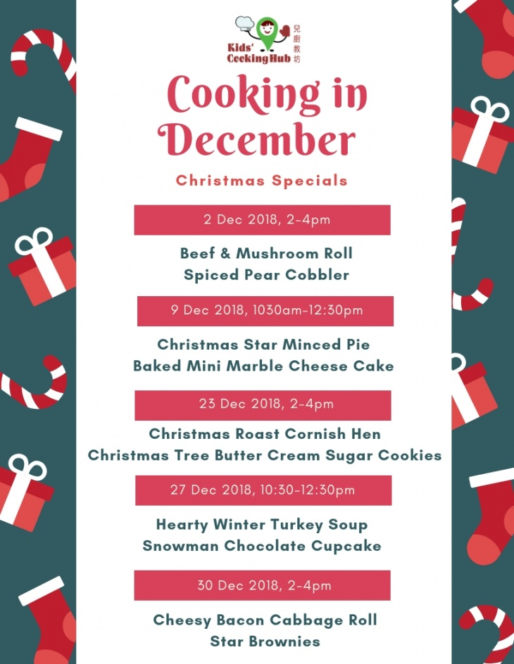Cooking in December