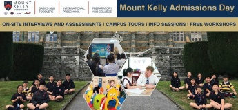 Mount Kelly Admissions Day
