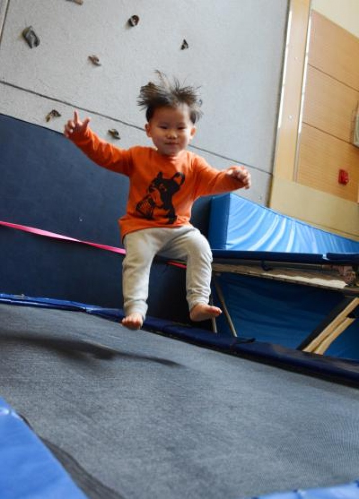 CNY Gymnastics & Trampoline Day Camp (3-10 yrs)