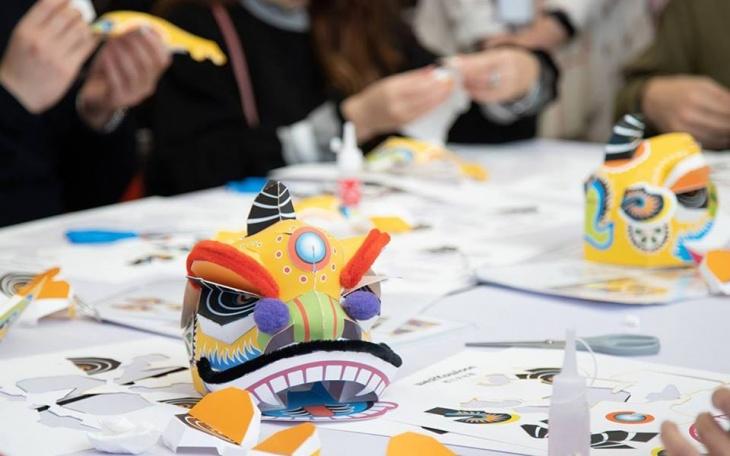 Paper Puppet Making Workshop: Lion Dance Head