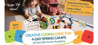 Creative Coding Director 4-Day Spring Camps