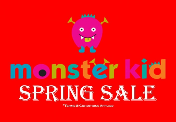 Monster Kit Spring Sale