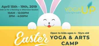 Easter Kids Yoga & Arts Camp