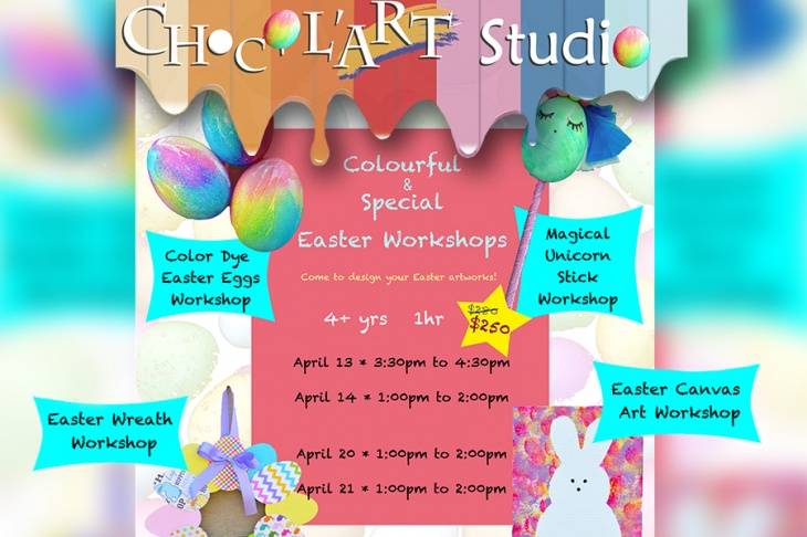 Colourful & Special Easter Workshops 2019
