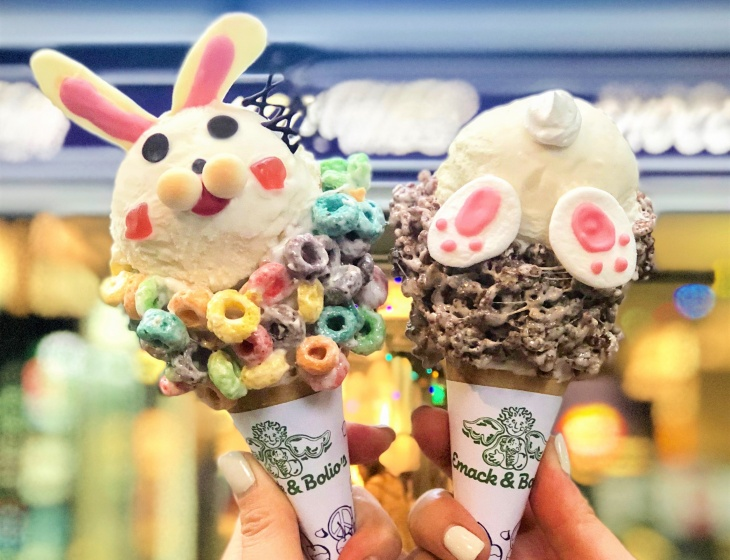 Easter Bunny Ice Cream