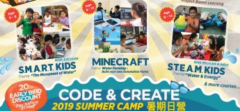 Creative Coding Summer Camp 2019