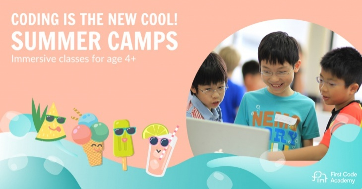 Summer Coding Camps: Junior (Age 4-5)