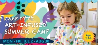 CAMP D'ÉTÉ French/English Art-Infused Summer Camp