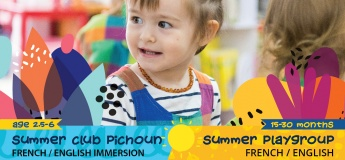 SUMMER SMALL-CLASS FRENCH/ENGLISH IMMERSION - CLUB PICHOUN