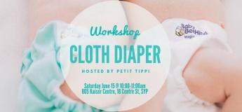 June Cloth Diaper Workshop | Petit Tippi
