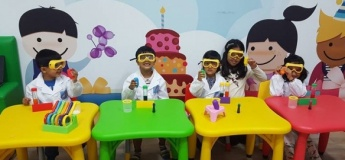 Science Experiment Summer Camp