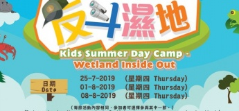 Kids Summer Day Camp – Wetland Inside Out