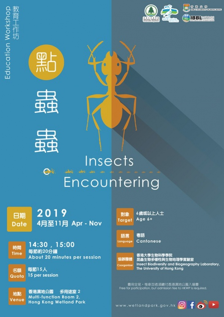 Education Workshop: Insects Encountering
