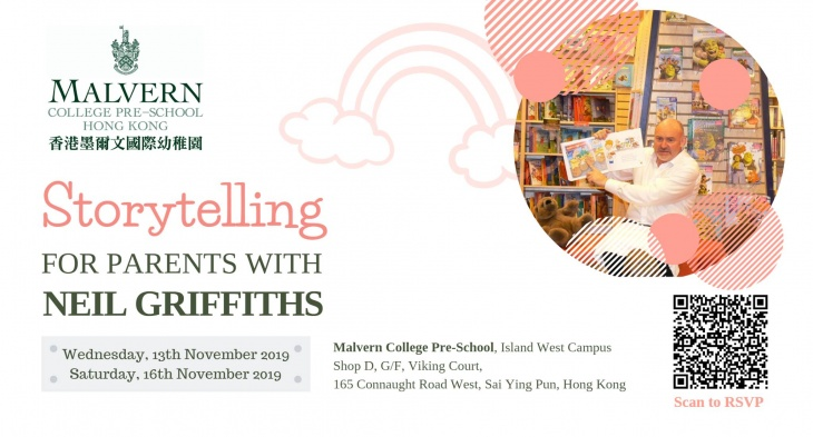 Neil Griffiths Storytelling Session for Parents