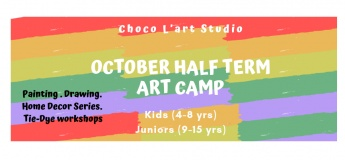 October Half Term Art Camp 2019