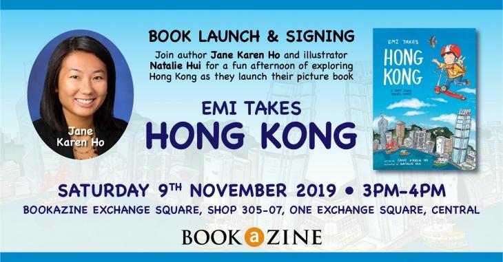 Emi Takes Hong Kong: Storytime & Signing