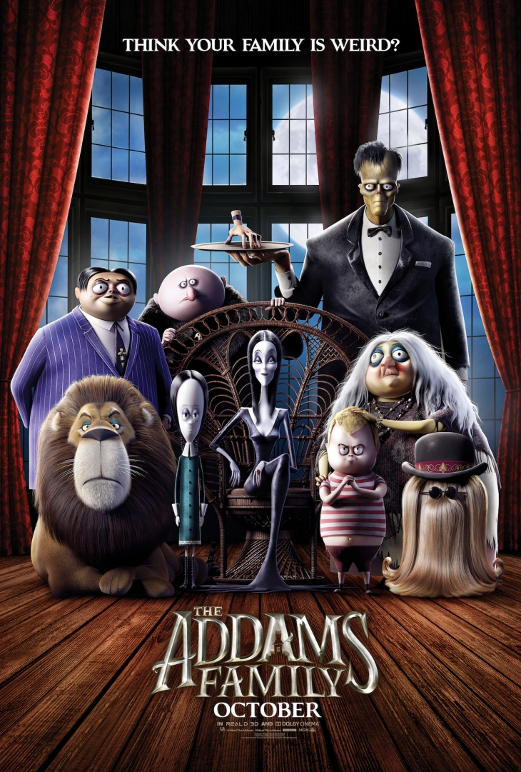 The Addams Family @ Cinema City