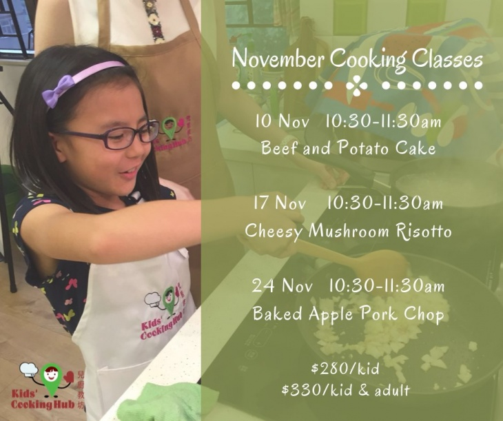 November Cooking Classes