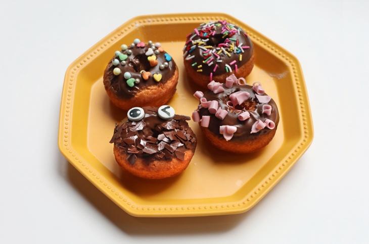 親子烹飪班 - 甜甜圈