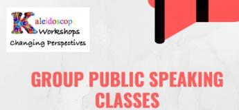Group Public Speaking Classes