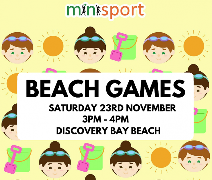 Discovery Bay Beach Games (November 23)