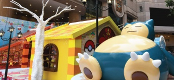 """""""Pokémon is Coming to Town"""" Hong Kong Times Square"""