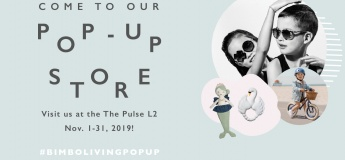The first Bimboliving 's POP-UP STORE!